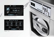 TOUCH SCREEN CONTROL WASHER EXTRACTOR DOMUS