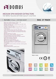 WASHER EXTRACTOR DOMUS/MESIN CUCI DOMUS