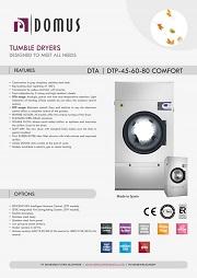 TUMBLER DRYER DOMUS/PENGERING DTP