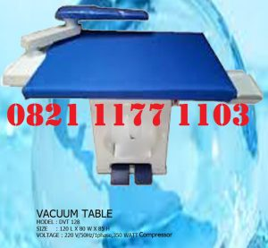 MEJA VAKUM/VACUUM TABLE LAUNDRY