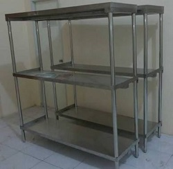SOLID RACK STAINLESS STEEL
