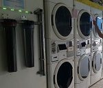 Stack laundry koin