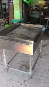 GAS GRIDDLE FREE STANDING