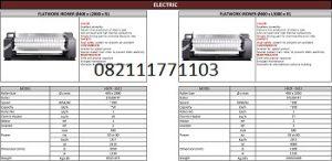 PAROS FLATWORK IRONER ELECTRIC